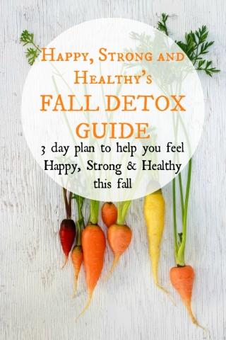 Fall Detox Program