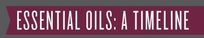 Essential Oils and History