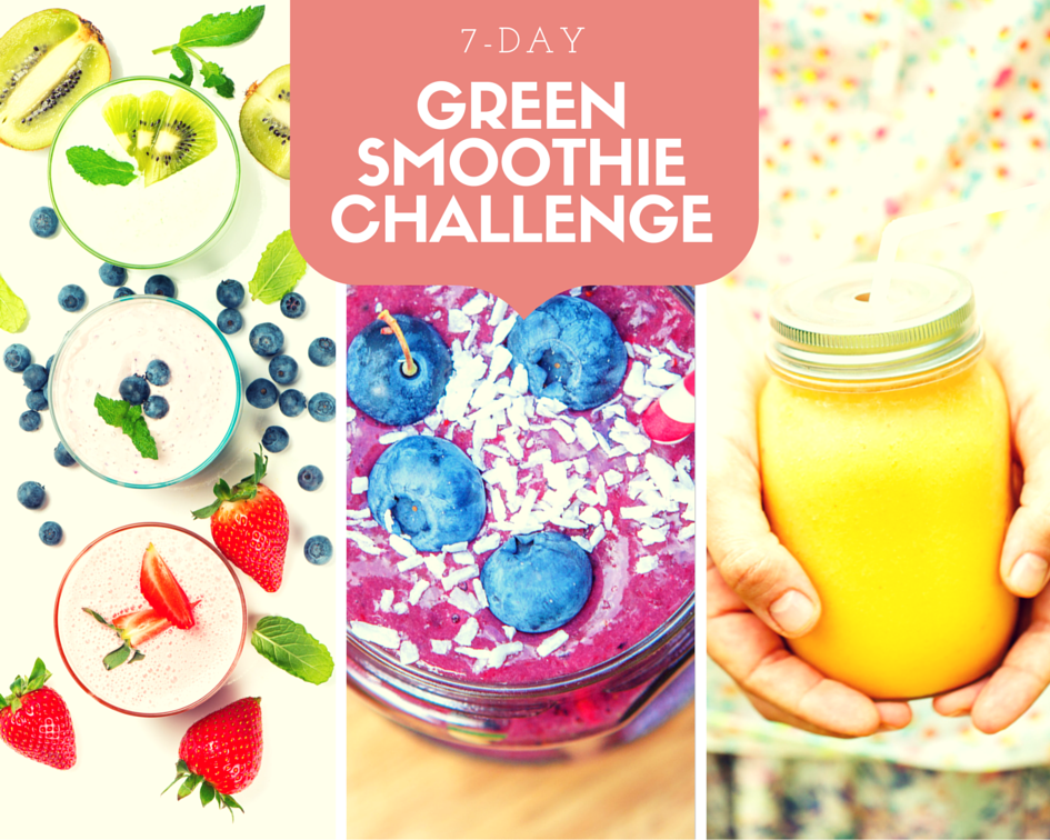 Green Smoothie Challenge sign up