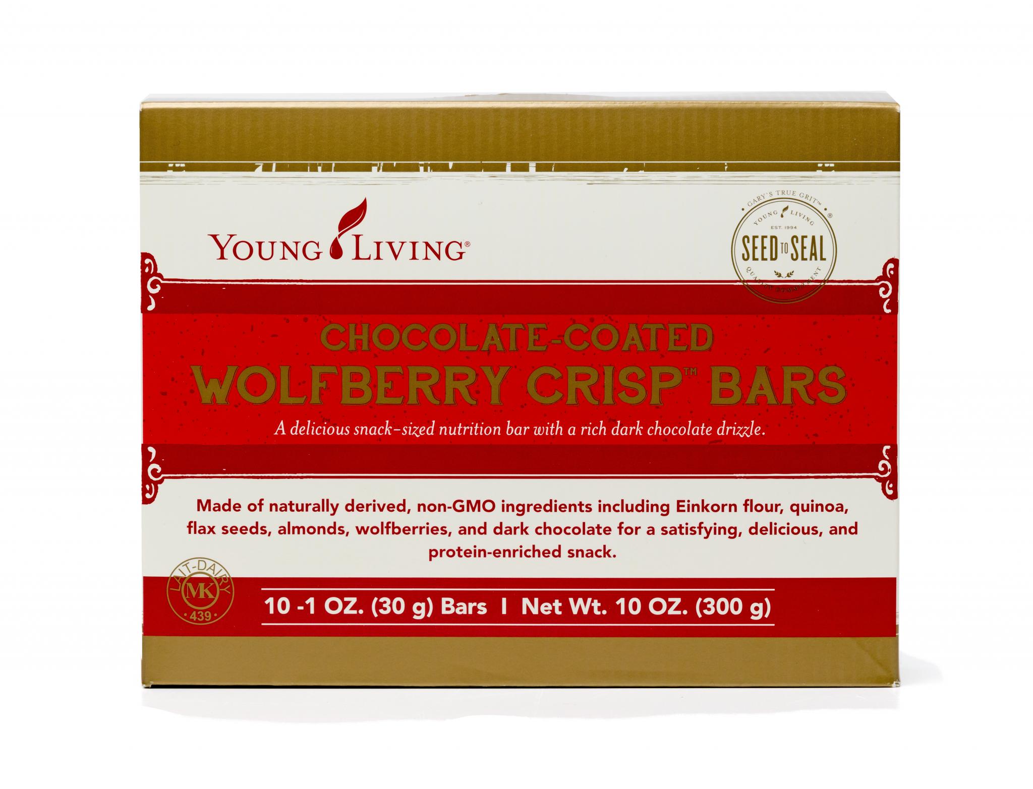 Wolfberry Crisp Bars
