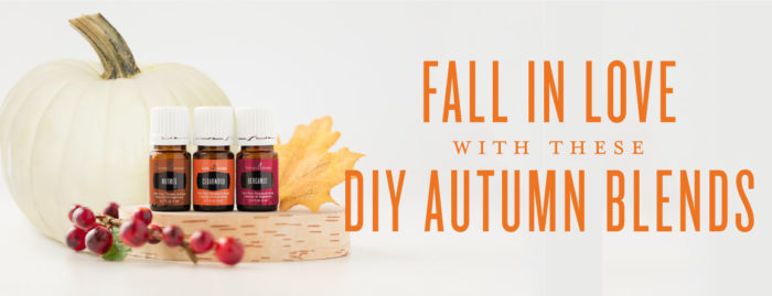 Fall in Love with these Autumn Diffuser Blends;