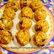 Pumpkin-oatmeal balls