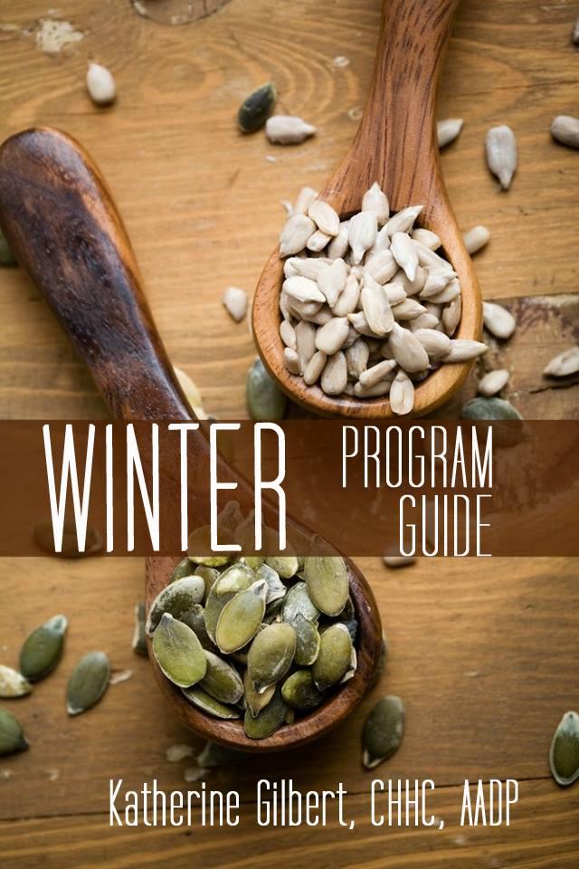 winter program guide cover