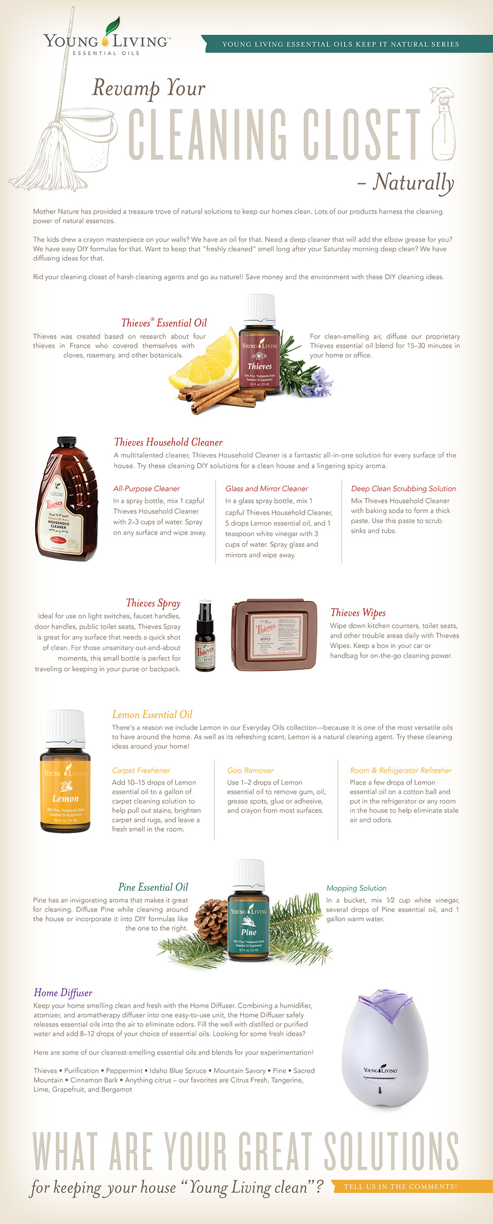Young Living Tips on Using Thieves